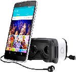 Smartphones - Alcatel IDOL 4S 6070K 32 GB Silber