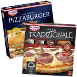 Dr. Oetker Pizza Tradizionale Salame Romano oder Pizza Burger Hot Dog
