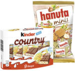 hanuta minis  oder kinder country