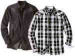 LIVERGY® Herren Jeans- / Twillhemd