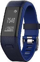 Fitnesstracker - Garmin vivosmart HR+, Fitnessarmband, 136-192 mm, Blau