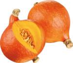 Kürbis 2 Sorten: Hokkaido orange oder Butternut, aus den Niederlanden oder Italien