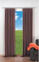 Vorhang Linus, Verdunkelungsqualität, ca. 140 x 245 cm, braun