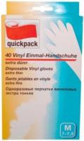 Vinyl-Einmalhandschuhe M