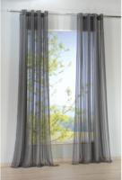 Vorhang Flash, mit Ösen, ca. 140 x 245 cm, anthrazit
