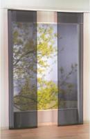 Schiebevorhang Flash, ca. 60 x 245 cm, anthrazit