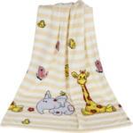 "Baby-Fleecedecke 75 x 100 cm ""Giraffe & Elefant"""