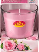 Duftkerze Duftglas Rose