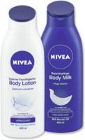 NIVEA Express Feuchtigkeits-Lotion oder Reichhaltige Body Milk