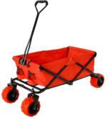 X Trem Toys & Sports - Cross Rover - Faltbarer Bollerwagen rot - 94l Volumen