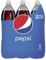 Pepsi* oder Schwip Schwap* (*koffeinhaltig), versch. Sorten,  jede 6 x 1,5-Liter-Pachung