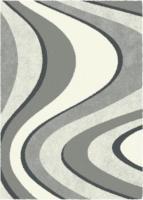 Teppich Sorento ca. 160 x 230 cm grau (Welle)