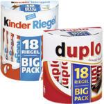 duplo, kinder Riegel 18er oder Schoko-Bons 300 g, jede 328/378/300-g-Packung