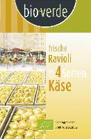 """Frische Nudeln """"Ravioli mit 4 Sorten Käse"""""""