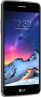 LG K8 2017 Titangrau 16 GB LTE 13 MP NFC 12,7 cm (5 Zoll) Android 7.0 NEU OVP