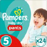 Pants Baby-Dry, Größe 5 Junior 12-18 kg