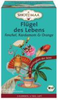 """Ayurvedischer Tee """"Flügel des Lebens - Fenchel, Kardamom und Orange"""""""