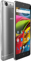 Smartphones - Archos 55b Cobalt Lite 16 GB Grey-Silber Dual SIM