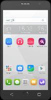 Smartphones - Alcatel POP Star 5070D (Classy Pack) 8 GB Metallic Silver Dual SIM