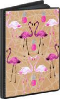 Pocket-Fototalbum 36 Bilder, 10x15 cm, Flamingo