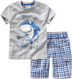 Baby-T-Shirt und Shorts