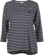 Damen Ringel Shirt mit Pailettenmotiv