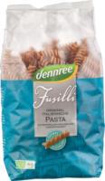Dennree Dinkel-Vollkorn-Fusilli 500g Packung