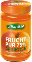 Allos Frucht Pur Aprikose 250g Glas