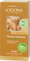 """Pflanzenhaarfarbe """"gold-blond"""""""