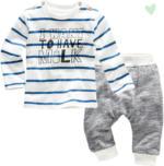 Newborn-Langarmshirt und Jogginghose