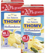 Thomy Les Sauces, versch. Sorten,  jede 250 + 20% gratis = 300-ml-Bonuspackung