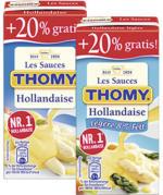 Thomy Les Sauces, versch. Sorten,  jede 250 + 20% gratis = 300-ml-Bonuspackung