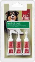 Zubehör für Hunde, Spot On Tropfen, Schutz vor Flöhen & Zecken, 3 x 2,5 ml