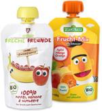 Sesamstrasse oder Freche Freunde Bio Frucht-Quetschen versch. Sorten, jeder 100-g-Beutel