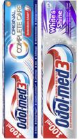 Odol-med 3 Zahncreme White & Shine, Samtweiss oder Complete Care jede 100-ml-Tube