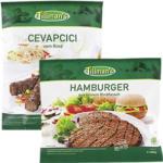 Tillman`s Hamburger oder  Cevapcici * * * aus Rindfleisch, gefroren, jeder 1000-g-Beutel