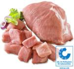 Frischer Gourmet Schweinebraten oder Schweinegulasch aus dem Schinken, je 1 kg