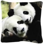 "Dekokissen ""Pandas"" 40 x 40 cm"