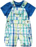 Newborn-Latzhose und T-Shirt