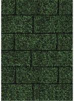Karibu Dachschindeln Rechteck, dunkelgrün, 3 m²