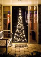 Tür-Lichtervorhang Tannenbaum, für Außen