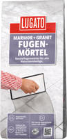 Lugato Fugenmörtel Marmor+Granit Silbergrau, 5kg