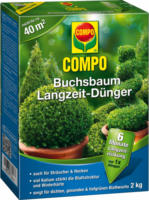 Compo Buchsbaum Dünger mit Langzeit-Effekt, 2 kg