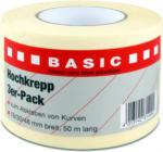 Hochkrepp Klebeband, 3er Pack, 18/30/48mm