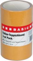 Teppichband Folie, 3er Pack, 10m x 50mm