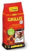 Grill-Holzkohlebriketts Grillis, 10 kg
