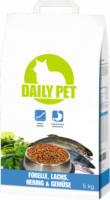 DailyPet Katze Trockenfutter Forelle, Lachs, Hering & Gemüse, 5 kg