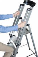 Krause Stufen-Stehleiter Sepuro inkl. Handlauf, 8 Stufen