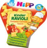 Kinderteller Kinder Ravioli Tomaten-Gemüse Sauce ab 1 Jahr