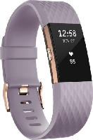 Fitnesstracker - Fitbit Charge 2 Special Edition Large, Activity Tracker, 165-206 mm, Lavendel/Roségold